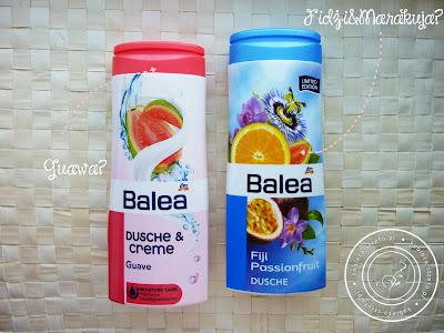 Walka żeli pod prysznic - Balea ! Który lepszy? Guawa, mandarynka, truskawka, borówka, fidżi i marakuja