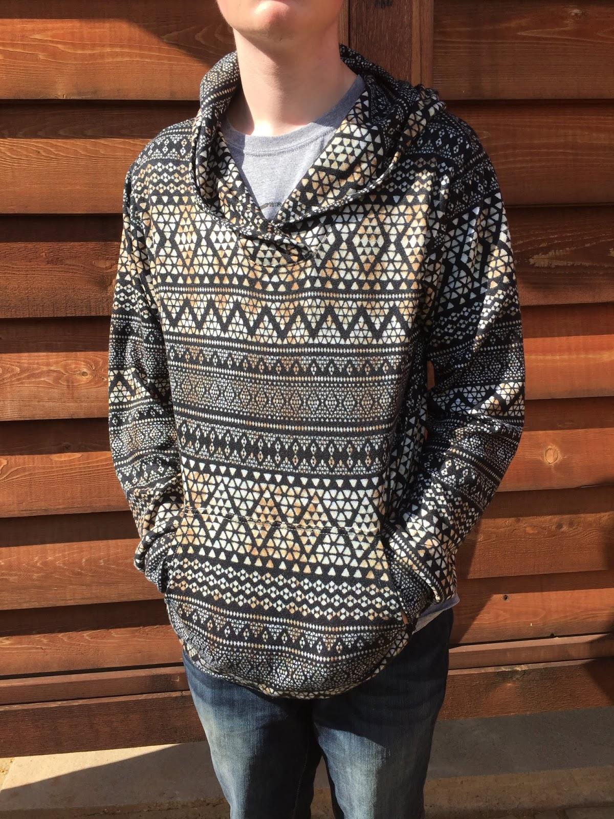 5f5882033 The Finlayson is a men s sweater that is available in 2 variations--shawl  collar or hoodie