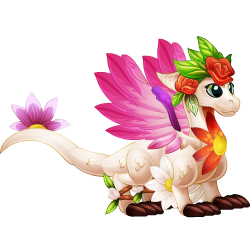 Appearance of Spring Dragon when teenager