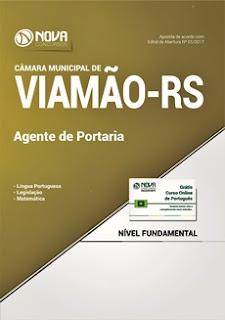 Apostila Câmara de Viamão 2017 Agente de Portaria
