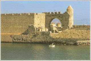 Lovely Rhodes postcard from Lucia
