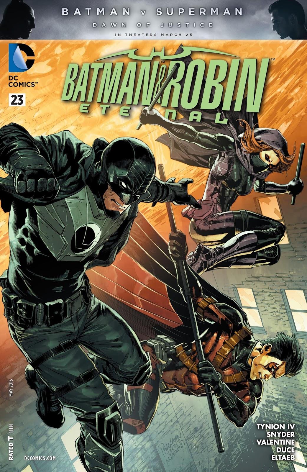 Batman and Robin Eternal #10   NOS!