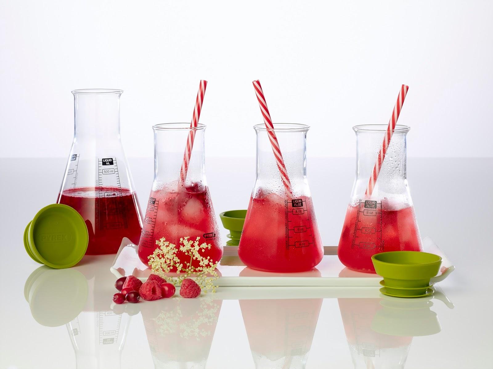 Raspberry, Apple And Elderflower Mocktail To Try
