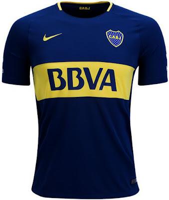 Nike Boca Juniors Home Jersey 17-18 New Jersey