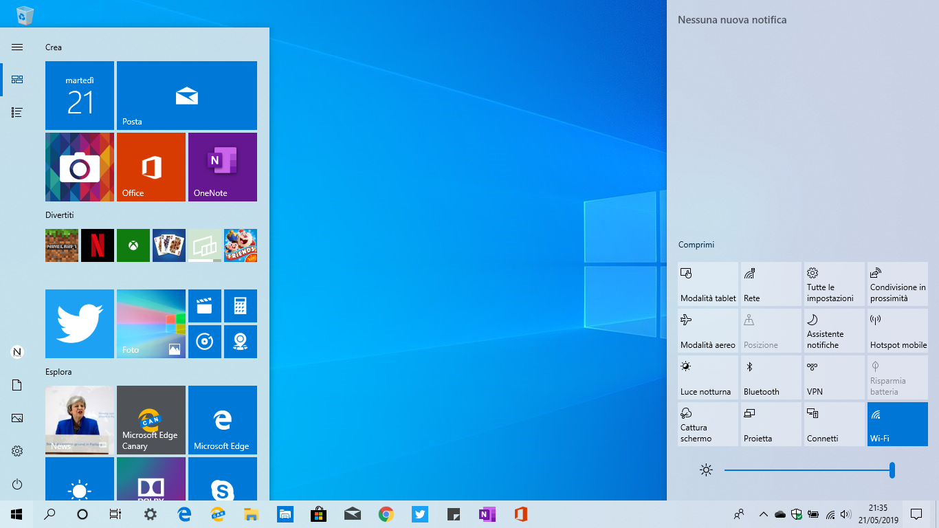 Tema-chiaro-Windows-10-1903-may-2019-update