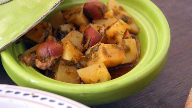 Salade Marocaine De Pommes De Terre À La Chermoula
