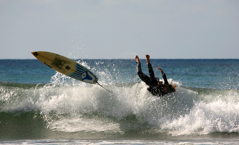 wipeout surf