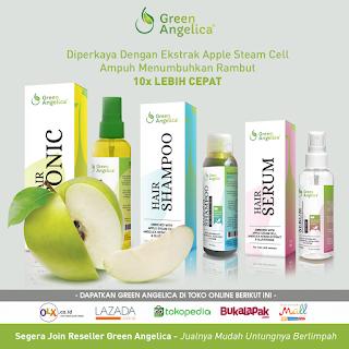 Obat Penumbuh Rambut Botak Ampuh, Jual Obat Penumbuh Rambut Rontok, Green Angelica Solusinya