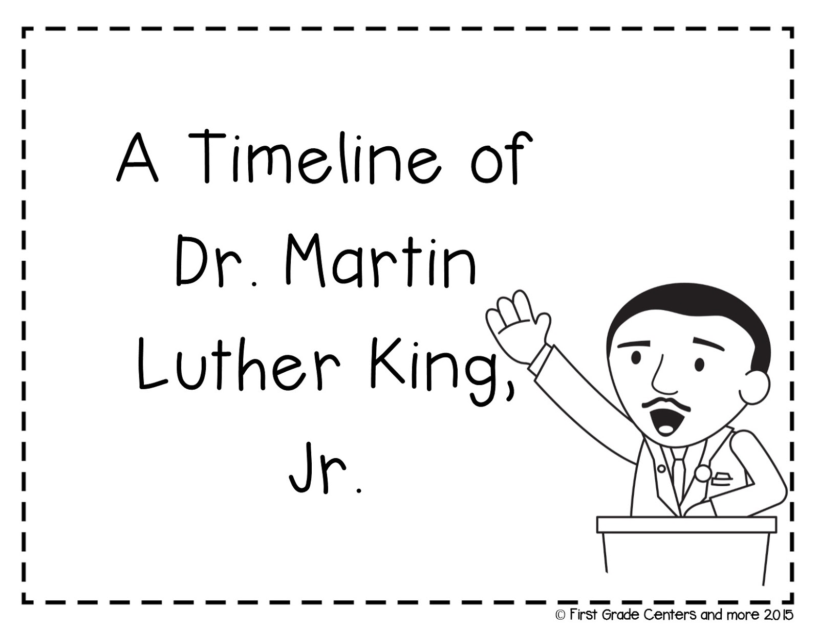 Martin Luther King Jr And Timelines