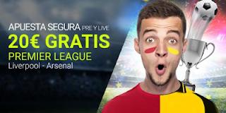 Luckia Apuesta segura Liverpool vs Arsenal 27 agosto