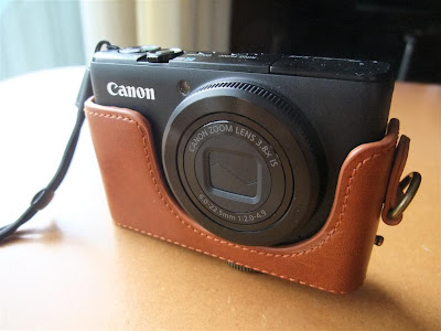 Canon S95 camera leather case, protect