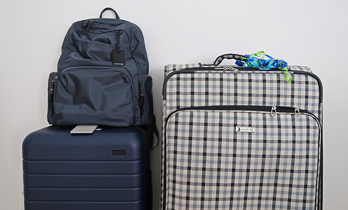 packing tips, travel tips, a style caddy, travel, away luggage, London fog luggage, tumi calais backpack, how to travel like a pro, travel routine,