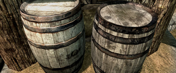 Skyrim Mods: HD Furniture and Barrels (High Res Texture Replacer