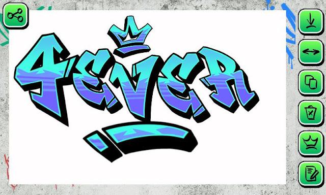 Membuat Gambar Dan Foto Menjadi Keren Dengan Tulisan Font Graffiti
