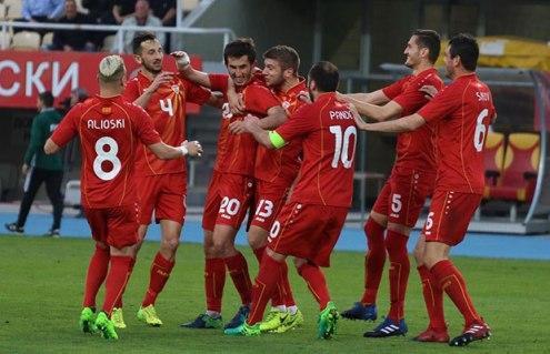 Fußball: Mazedonien gewinnt Test gegen Weißrussland