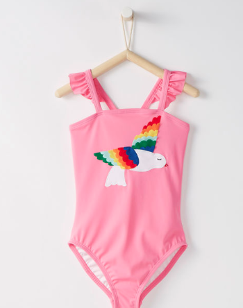 Hanna Andersson Bird Swimsuit