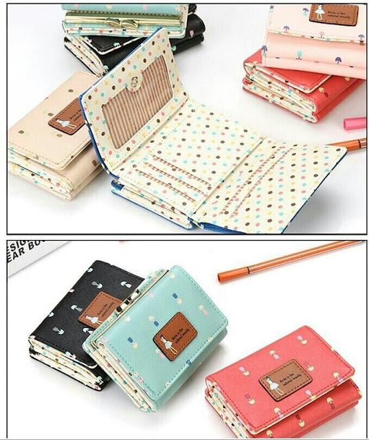 Jims Honey Annabelle Wallet detail dalam