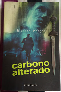 Portada del libro Carbono alterado, de Richard Morgan
