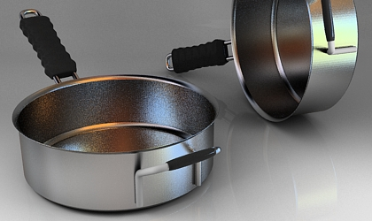 pan 3d model free