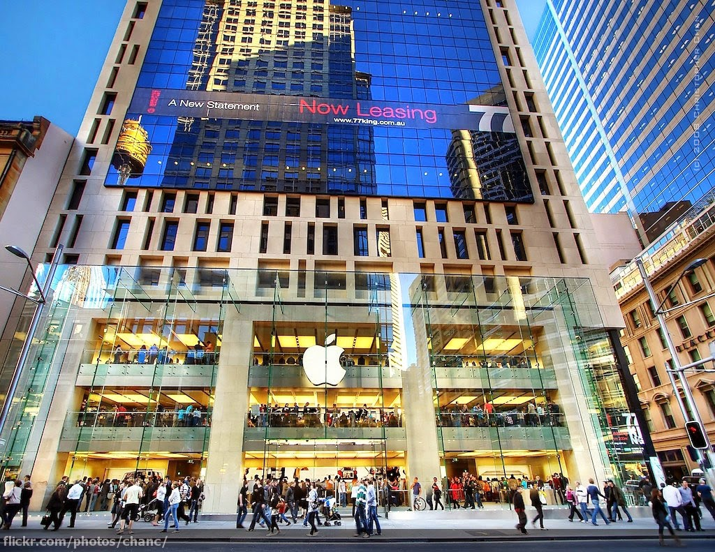 20 of the best and most beautiful apple stores around the world netisia everything in tech world. Black Bedroom Furniture Sets. Home Design Ideas