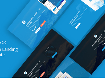 Download GEO Bootstrap 3 App Landing Page Template Free