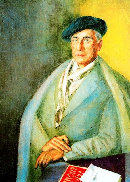 Daniel Vázquez Díaz, Self Portrait, Portraits of Painters, Fine arts, Vázquez Díaz