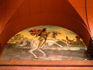 Guerreiro e Cavalo na Entrada da Catedral Ortodoxa de São Paulo
