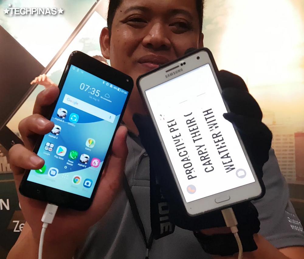 Asus ZenFone Reverse Charging Powerbank Feature