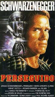 Perseguido, Arnold Schwarzenegger, Paul Michael Glaser, Maria Conchita Alonso