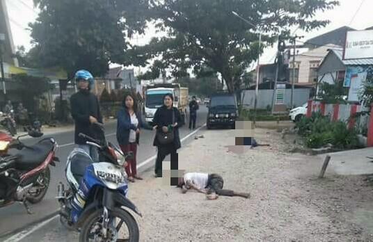 Breaking News : Ditabrak Lari, Dua Pemuda Peserta Tahun Emas Kibaid, Meninggal Ditempat