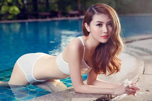 Bộ ảnh bikini gợi cảm Siêu mẫu Ngọc Duyên
