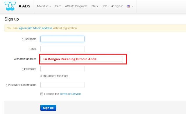 Cara Mudah Mencari Bitcoin,A-ads , anonymous ads , bitcoin , cara mendapatkan Bitcoin