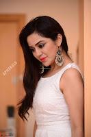 Ragini in Beautiful Cream Sleeveless Gown Perfect makeup ~  Exclusive 020.jpg