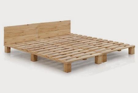 15 ideas para hacer muebles con tarimas de madera ingeniando for Tarimas de madera para cama
