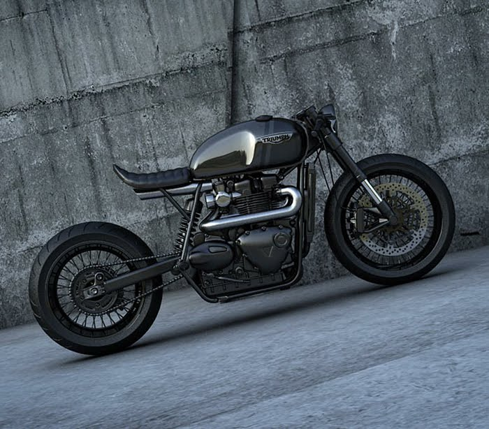 Ziggy Moto Triumph Cafe Racer
