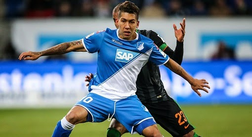 Arsenal to win Roberto Firmino race