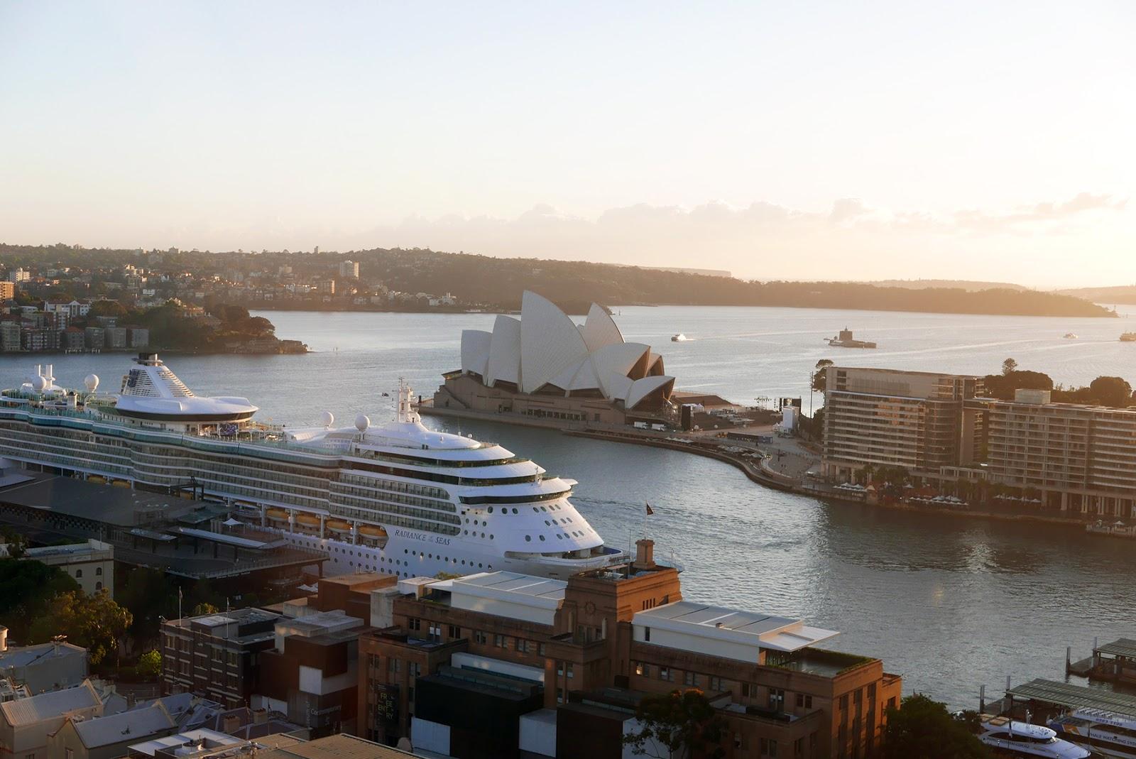 Euriental | luxury travel & style | Sydney Australia, view from Shangri-La
