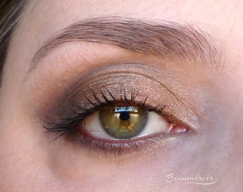 wearing Estee Lauder x Victoria Beckham Eye Palette: review, photos, swatches