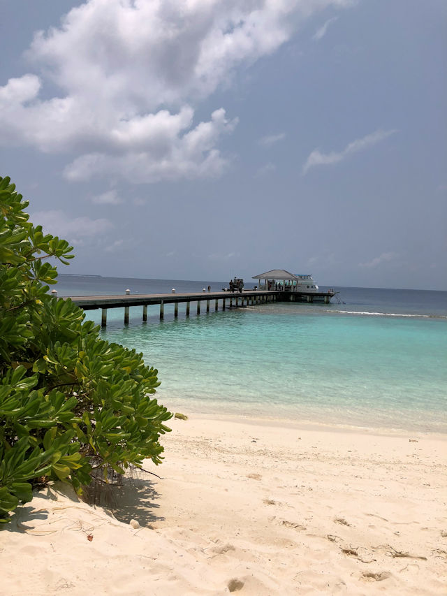 Royal Island & Spa Resort Maldives, Jetty (C) Kundenfoto