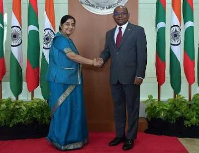 India And Maldives Signed Three Agreements