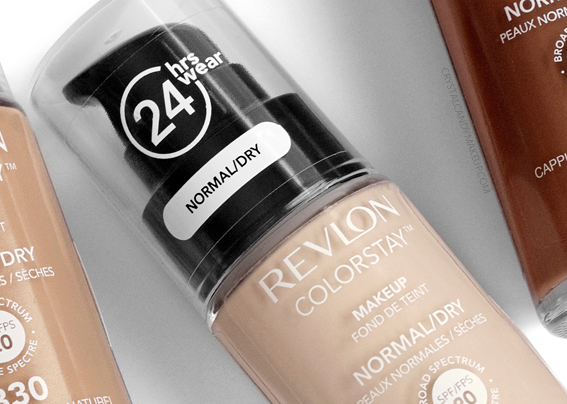 Revlon Colorstay Foundation Makeup Normal Dry Skin Review