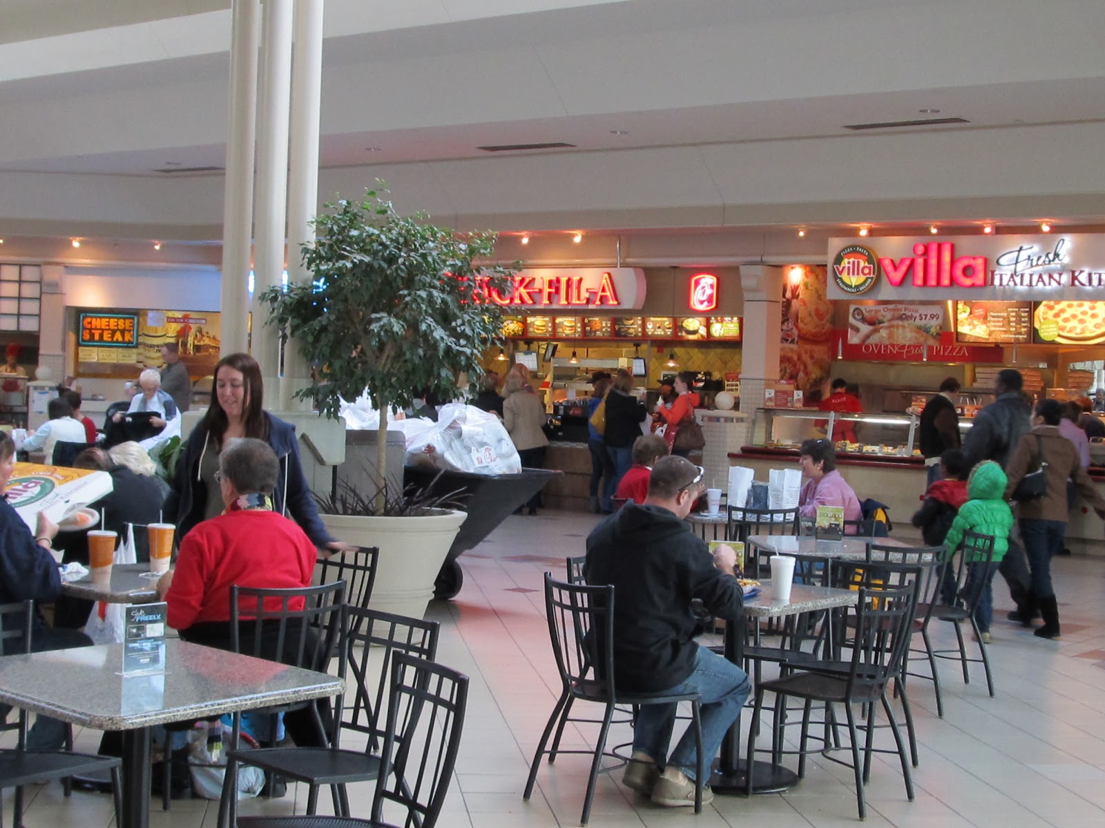 Chairs In Food Court For Kids