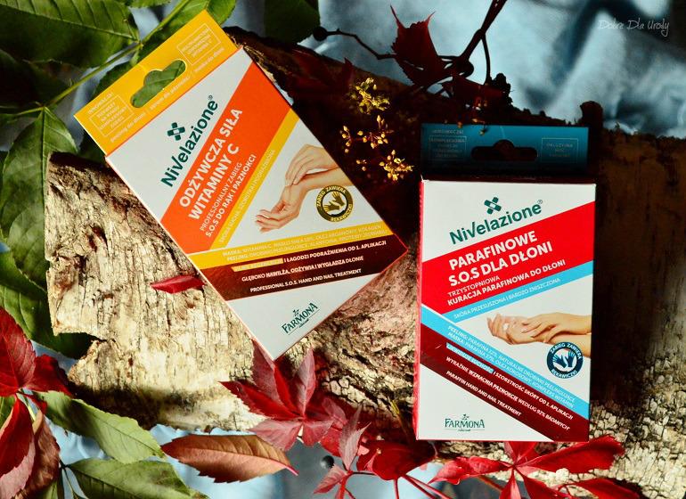 Farmona Nivelazione S.O.S. dla dłoni - Parafinowa kuracja oraz Odżywczy zabieg z witaminą C recenzja