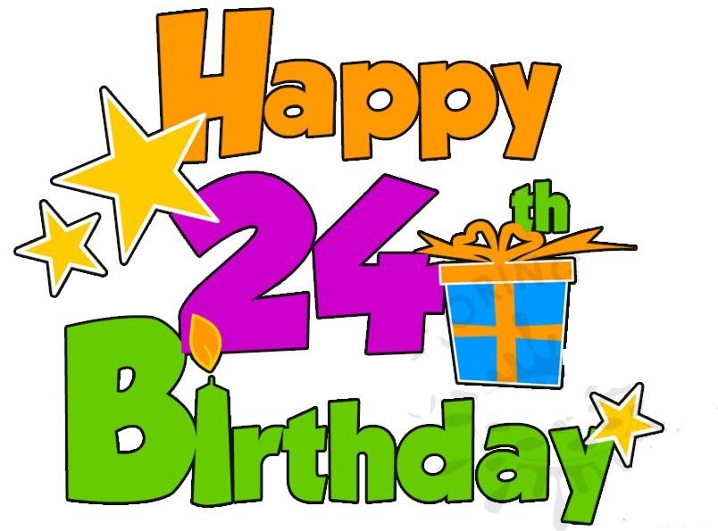 Happy Birthday 24th