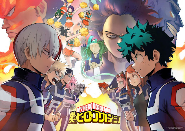 Gratis Unduh Anime Boku no Hero Academia S2 1-25 Subtitle Bahasa Indonesia Batch