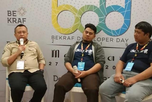 """""""Bekraf Developer Day"""" di Kota Mataram, Jawab Tantangan Era Revolusi Industri 4.0"""