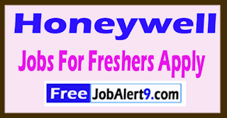Honeywell  Recruitment 2017 Jobs For Freshers Apply