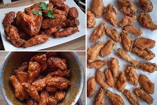 Resep Membuat Spicy Soda Chicken Wings