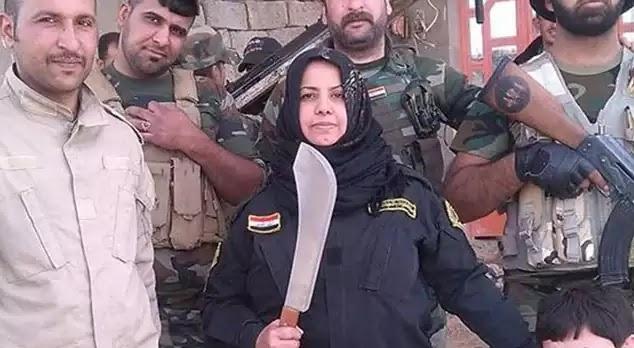 Δείτε την Ιρακινή νοικοκυρά που αποκεφαλίζει & βράζει τζιχαντιστές! ~ Στην κουζίνα ολοταχώς