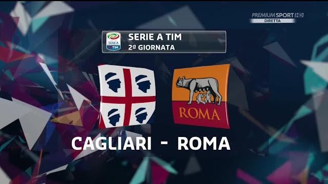 Cagliari Roma 2-2 Serie A 28/08/16 Highlights Zampa